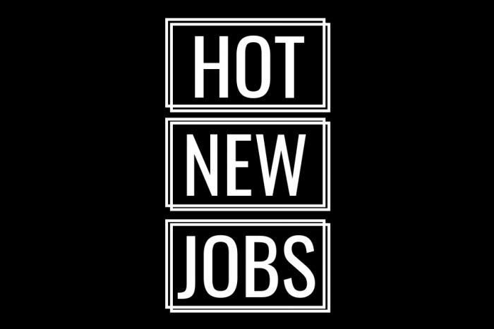 Hot New Jobs