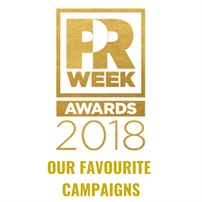PR Week Awards 2018: Our favourites!