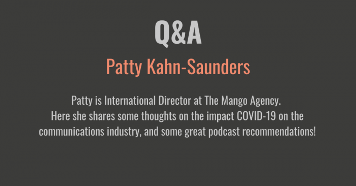 Q&A with Patty Kahn-Saunders