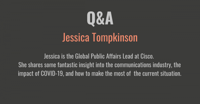 Q&A with Jessica Tompkinson